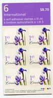RC 11437 CANADA 2004 FLEURS FLOWERS CARNET BOOKLET MNH NEUF ** - Ganze Markenheftchen