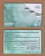 AC - SUBWAY MULTIPLE RIDE METROCARD, BUS & MUSEUM CARD #48 BURSA, TURKEY - Titres De Transport