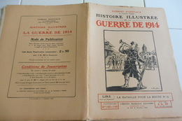 132-133-Histoire Illustrée Guerre 1914 -Rte 51-Nanteuil Le Haudoin-Ferme Montgivroux Nozet-Connantre-Soizy-Fèr E-Normée - Revues & Journaux