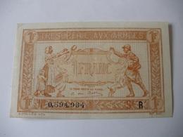 1 F TRESORERIE AUX ARMEES TYPE 1919 SERIE R - Treasury