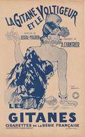LA GITANE ET LE VOLTIGEUR Bertal-Maubon, Chantrier ( Tabac, Cigarette) - Partituren