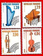 3504  --  FRANCE  Préoblitérés - 1989 - N° 202 / 205**  Neufs - Préoblitérés