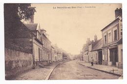 60 La Neuville En Hez Entre Beauvais Et Clermont Grande Rue Travaux Echafaudage Edit J. Fourment Tabac En 1930 - Clermont