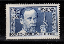 YV 333 N** Chomeurs Intellectuels Cote 50 Euros - France