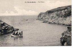 ILE DE GROIX : Port Melun - Groix