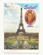 Collection Magazine Salut ! CP N° 13, Paris Sheila - Chanteurs & Musiciens