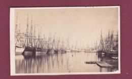 310119 - PHOTO CDV 1865 - 76 LE HAVRE Bassin Du Commerce - Voilier Bateau Marine - Le Havre