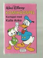 "1 X  Zweeds Kaartspel   = ""WALT DISNEY "" KOMIHAGSPEL -Kortspel Med KALLE  ANKA   ""- - Cartes à Jouer"