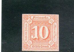 THURN UND TAXIS 1859 * - Tour Et Taxis