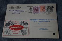 Publibel,Motos Vélos Superia 1957 Zedelgem ,pour Collection - Entiers Postaux