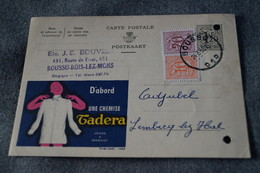 Publibel,Chemise TADERA,1958 ,pour Collection - Stamped Stationery