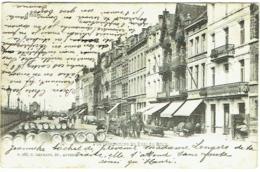 Anvers. Vue Perspective Du Quai Du Rhin. - Antwerpen