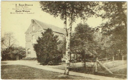 Leuven. Eaux-Douces. Hôtel St.-Jean. Jardins Et Terrasse. - Leuven