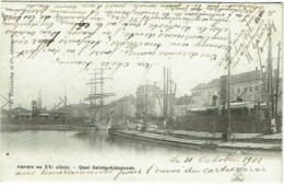 Anvers. Anvers Au XXe Siècle. Quai Sainte-Aldegonde - Antwerpen