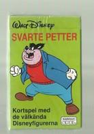 "1 X  Zweeds Kaartspel   = ""WALT DISNEY "" SVARTE  PETTERL -Kortspel Med  De Välkända Disneyfigurerna   ""- - Cartes à Jouer"