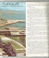 Dépliant Touristique, TURQUIE ,  IZMIR Et Ses Environs ,24 Pages ,1972 , 3 Scans ,frais Fr 2.25 E - Dépliants Touristiques