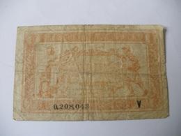 1 F TRESORERIE AUX ARMEES TYPE 1919 SERIE V - Treasury