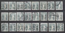 SCHWEIZ Zu/ Mi.. 138 (51x) For Colourdifferences, Cancellations, Errors Aso Aso - Gebruikt