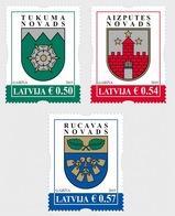 Letland / Latvia - Postfris / MNH - Complete Set Wapenschilden 2019 - Letland