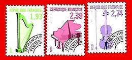 3506  --  FRANCE  Préoblitérés - 1990 - N° 210 / 12**  Neufs - Préoblitérés