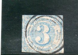 THURN UND TAXIS 1859 O - Tour Et Taxis