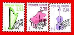 3507  --  FRANCE  Préoblitérés - 1990 - N° 210 / 12**  Neufs - Préoblitérés