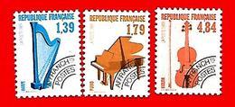 3508  --  FRANCE  Préoblitérés - 1989 - N° 22 +203 + 205**  Neufs - Préoblitérés