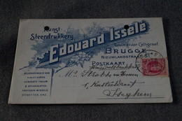 Publibel,Edouard Isselé Brugge 1926,pour Collection - Stamped Stationery