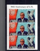 SIERRA LEONE 1967/1969** EN FEUILLET SUR LES 50 ANS DE L ONU   COTE MICHEL 17.00€ - Sierra Leone (1961-...)
