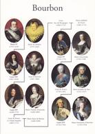 ROIS DE FRANCE - LES BOURBONS - Personaggi Storici