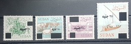HXSU1 - Sudan 2018 Complete Year Issues MNH - Stamps Surcharged New Values - Sudan (1954-...)