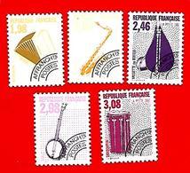 3510  --  FRANCE  Préoblitérés - 1990 - N° 214 / 18**  Neufs - Préoblitérés