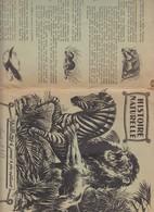 PROTÈGE CAHIER Ancien - PUB VAILLANT - 1961 - Animales