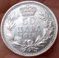 Serbia  50 Para 1915 UNC Without Signature - Serbie