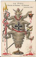CPA - Illustration  - Le Pou - Graines De Boches - Gde Kultur - Semence 1914 - Patriotique Illustrée - Other