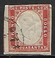 SARDAIGNE    -   1855  .  Y&T N° 13 Oblitéré - Sardegna