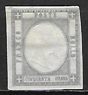 NAPLES     -   1861  .  Y&T N° 17 (*) - Naples