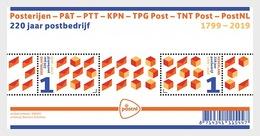 Nederland / The Netherlands - Postfris / MNH - Sheet 220 Jaar Post 2019 - Period 2013-... (Willem-Alexander)