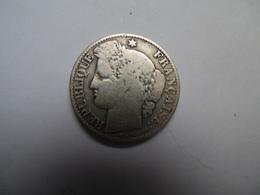 Piece De 50 Centimes   Ceres 1895 A Argent Superbe - G. 50 Centimes
