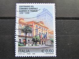 *ITALIA* USATI 2006 - CENT LEGIONE ALLIEVI GUARDIA DI FINANZA - SASSONE 2917 - LUSSO/FIOR DI STAMPA - 6. 1946-.. Repubblica