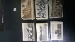 Lot De 650 Cartes  Cpa Sur Le Maroc Et L Algerie Avec Animation - Cartes Postales