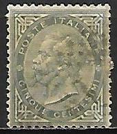 ITALIE    -   1863 .  Y&T N° 14 Oblitéré . - 1861-78 Vittorio Emanuele II