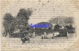 Cherbourg - La Gare , Coté D'arrivée - 1903 - Cherbourg