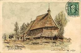Pays Div -ref R27- Slovaquie - Illustrateurs - Dessin Illustrateur - Orava  - Carte Bon Etat - - Slovaquie