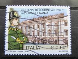 *ITALIA* USATI 2006 - CENT LEGIONE ALLIEVI GUARDIA DI FINANZA - SASSONE 2918 - LUSSO/FIOR DI STAMPA - 6. 1946-.. Repubblica