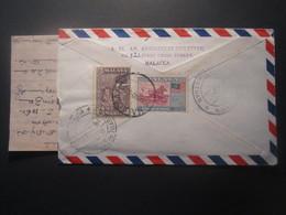 1960 MALAYA AIR MAIL COVER - Grande-Bretagne (ex-colonies & Protectorats)