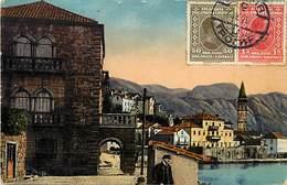 Pays Div -ref R21- Montenegro - Perast - Carte Bon Etat - - Montenegro