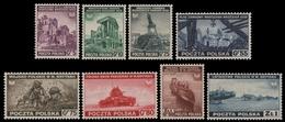 Polen 1941 - Mi-Nr. 360-367 ** - MNH - Kriegsszenen - 1939-44: 2ème Guerre Mondiale