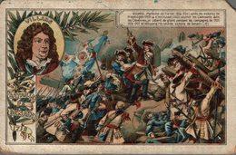 CHROMO CHICOREE A LA BOULANGERE CARDON-DUVERGER CAMBRAI  VILLARS BATAILLE DE DENAIN 1712 - Chromos