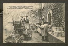 CP-ROQUEFORT-AVEYRON - Réception Des Fromages Aux Caves De La Rue - (S.A. Des Caves Et Producteurs Réunis) - Roquefort
